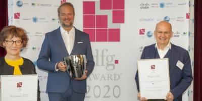 HMM Deutschland überreicht dfg®-Award an Siemens Betriebskrankenkasse