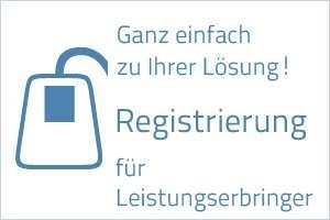 Homepage - Registrierung
